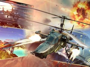 World of gunships — боевые вертушки онлайн