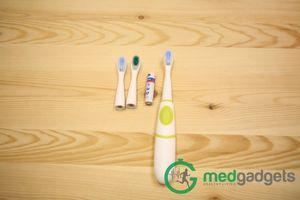 Зубная щетка для детей grush: превращаем рутину в игру
